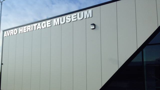 Avro heritage Museum sign