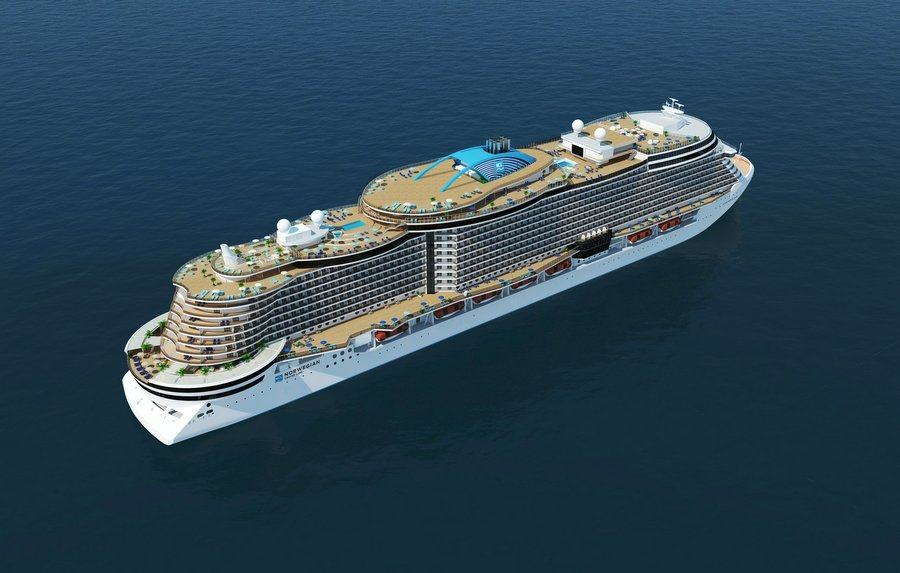 Norwegian Cruise Lines new ship design