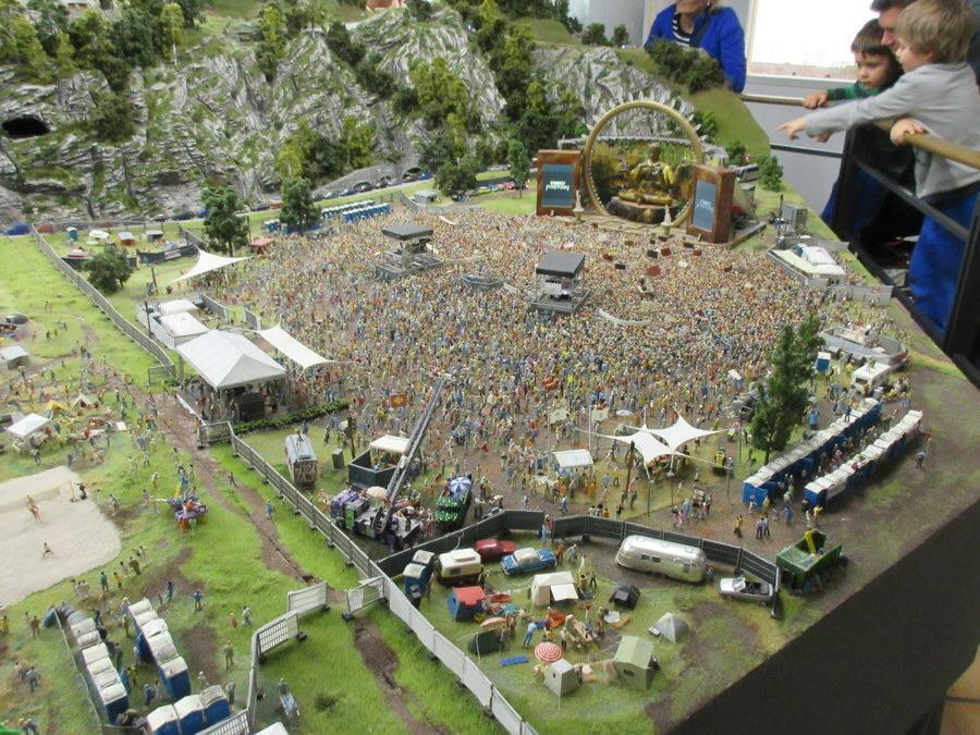 Miniatur Wunderland, DJ Bobo concert