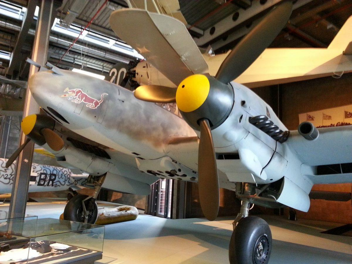 ME110 at Deutsches Technikmuseum, Berlin
