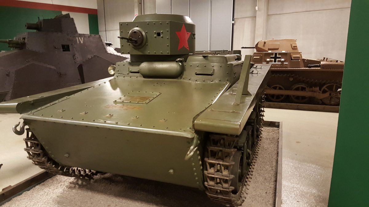 T-37 ATU amphibious light tank
