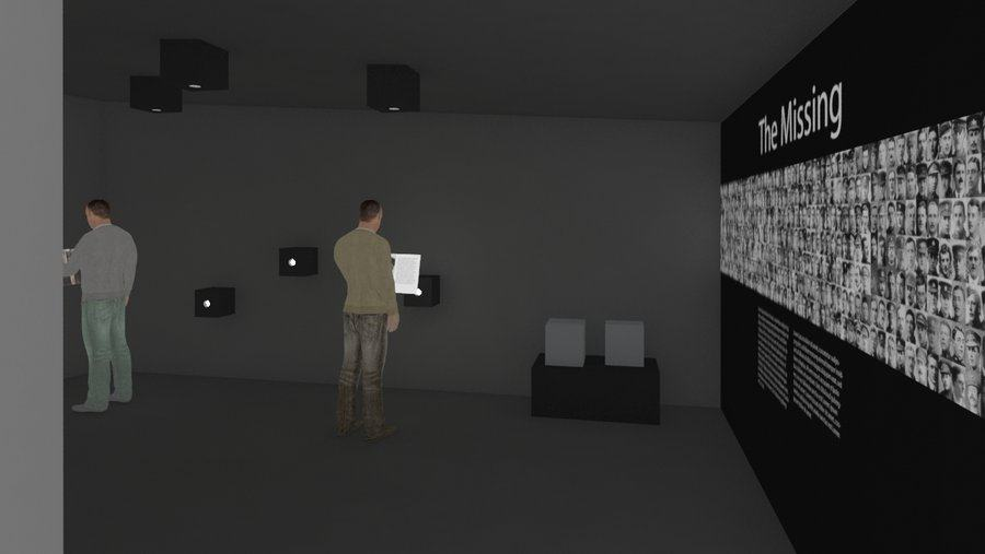 New Thiepval museum interior