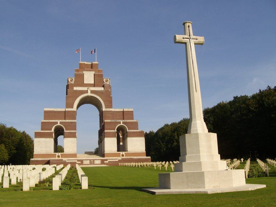 Thiepval Franco-British Memorial for the Missing