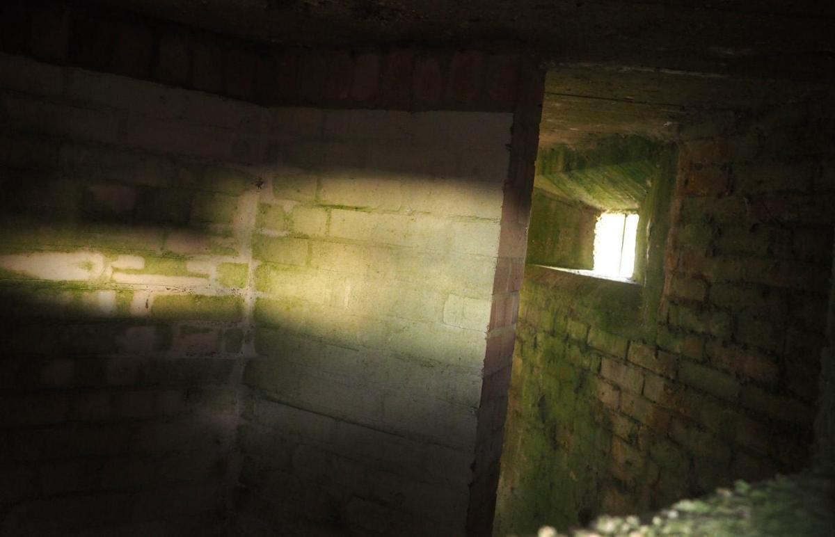 Pillbox interior