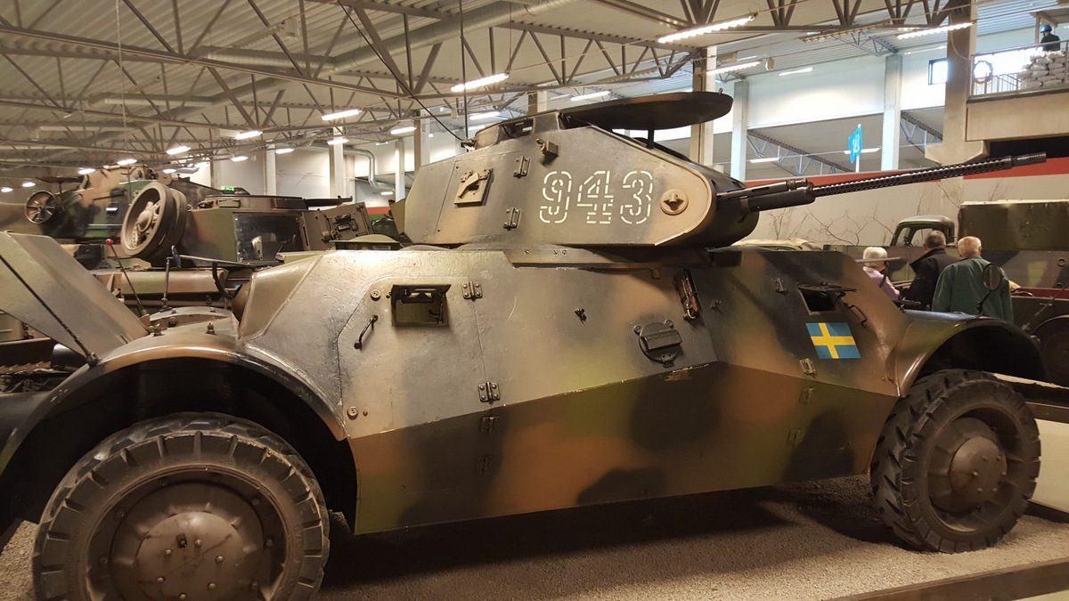 Pansarbil M40-Lynx