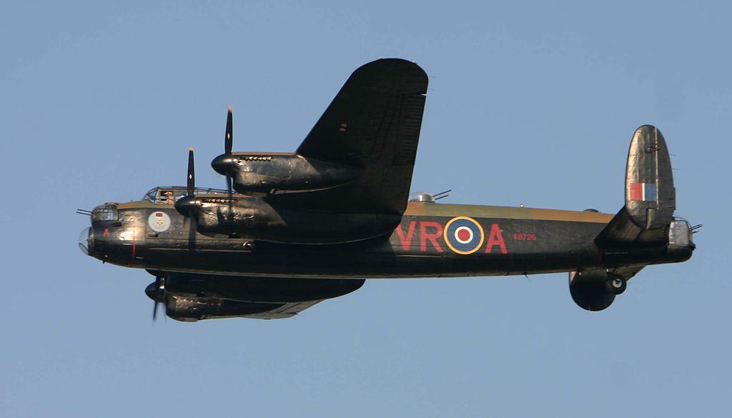 Avro Lancaster in flight