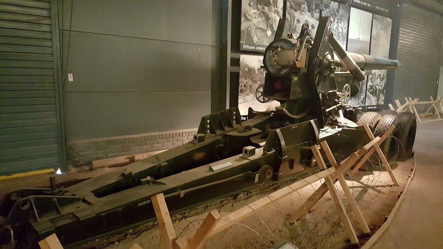 """British 7.2"""" howitzer"""