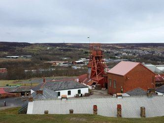 Big Pit overlooking Blaenavon