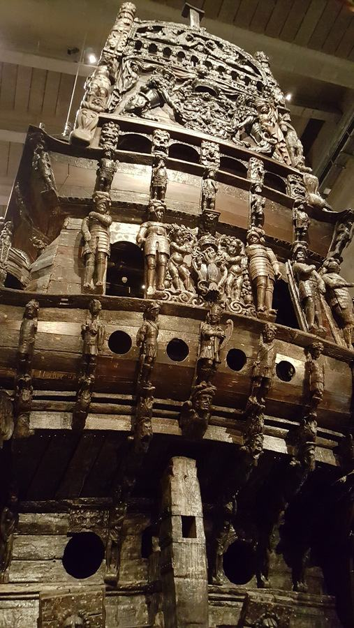 Stern of Vasa