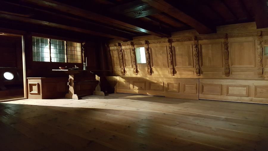 Vasa Great Cabin reconstruction