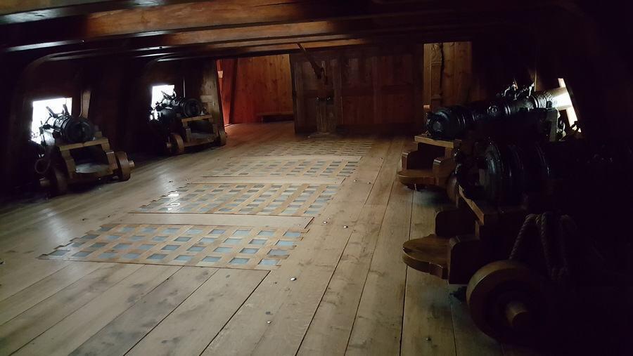 Vasa gun deck