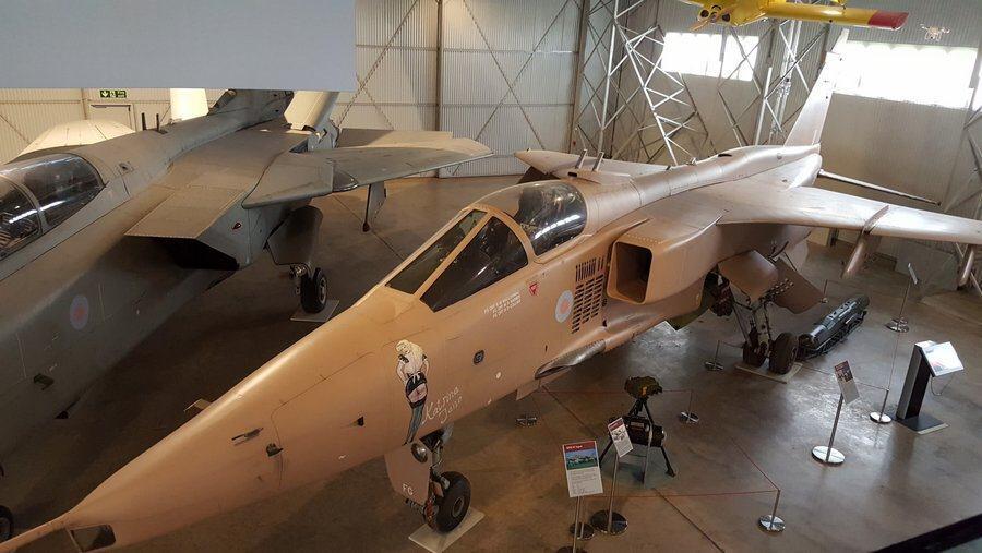 Sepcat Jaguar GR.1A & Panavia Tornado F3