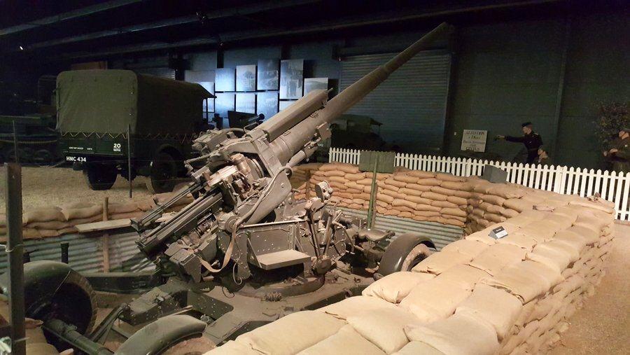 British 3.7 inch AA gun
