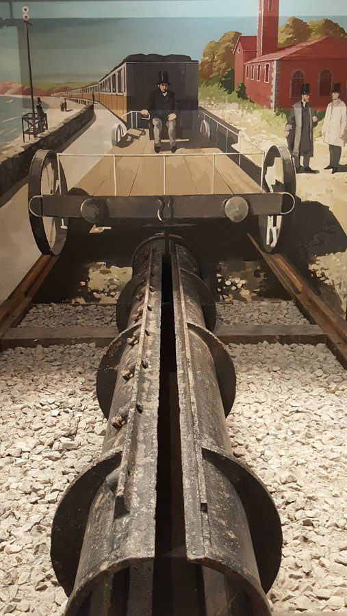 Section of tube from the Atmsopheric Railway at Being Brunel museum