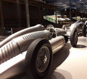 Silver Racers at the August Horch Museum in Zwickau