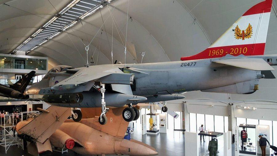 BAe Harrier GR9A suspended