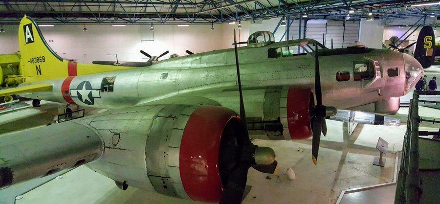 Large four-engined US bomber