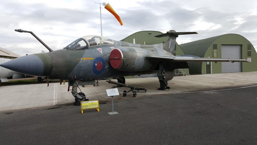 Blackburn Buccaneer at Yorkshire Air Museum