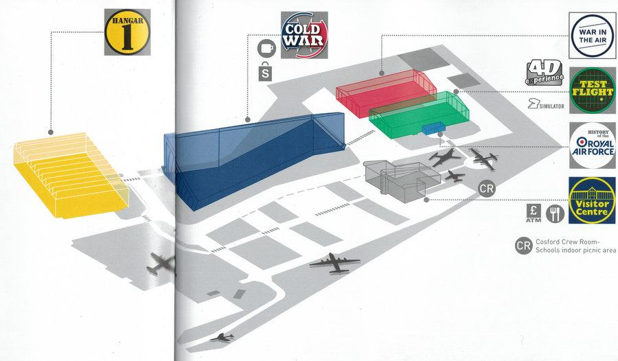 Cosford visitor map