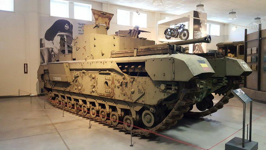 Churchill Armoured Recovery Vehicle (ARV)