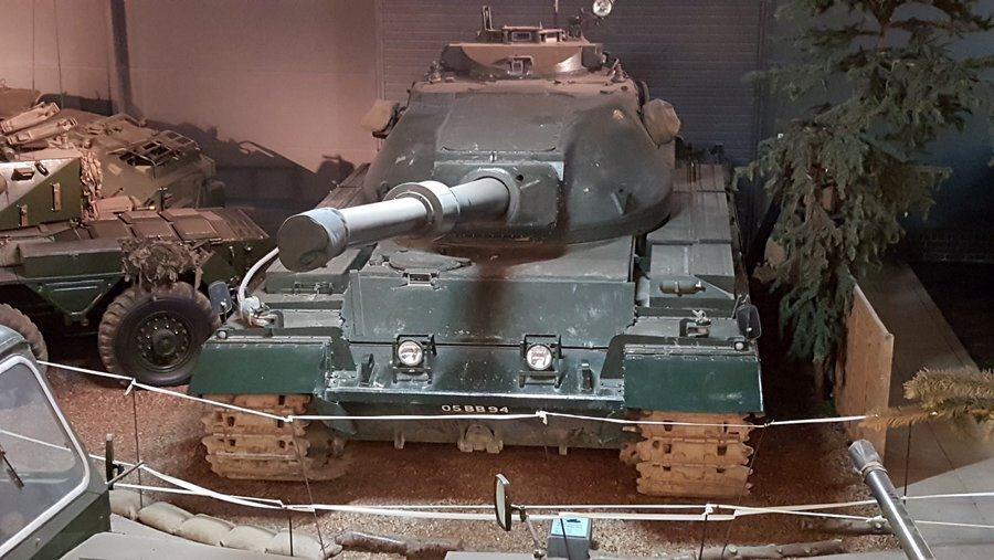 Conqueror FV201 tank