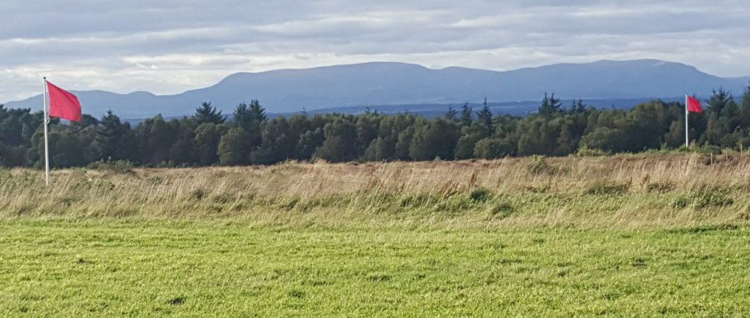 Culloden field & flags