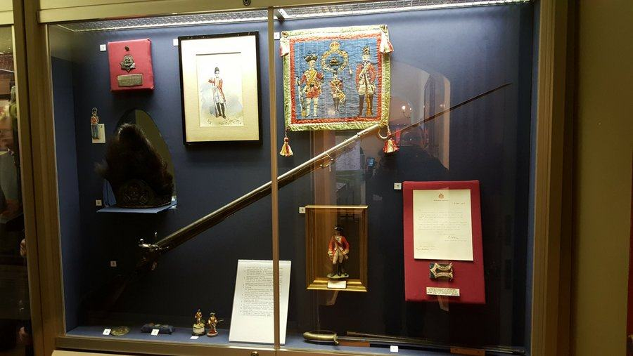 Berkshire and Wiltshire regimental display