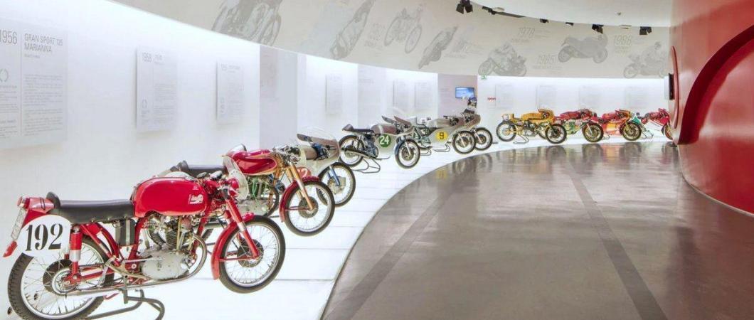 Classic Ducati motorcycles