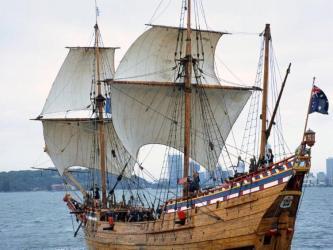 Duyfken replica ship