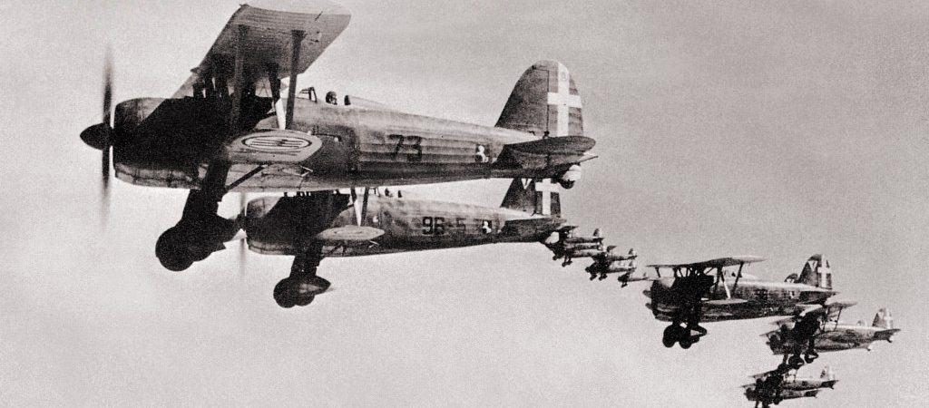 Fiat CR.42 fighters