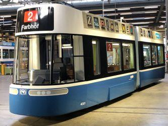 FLEXITY tram mock-up