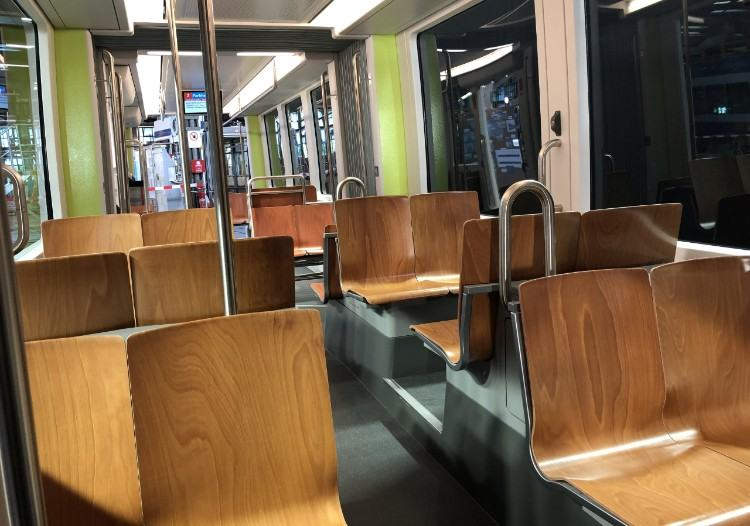 FLEXITY tram interior