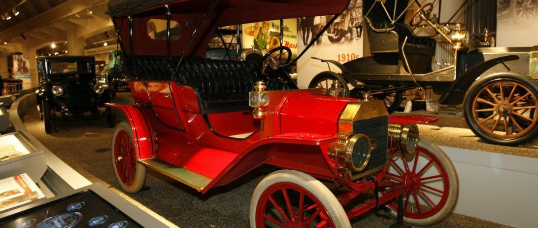 Model T Ford on display