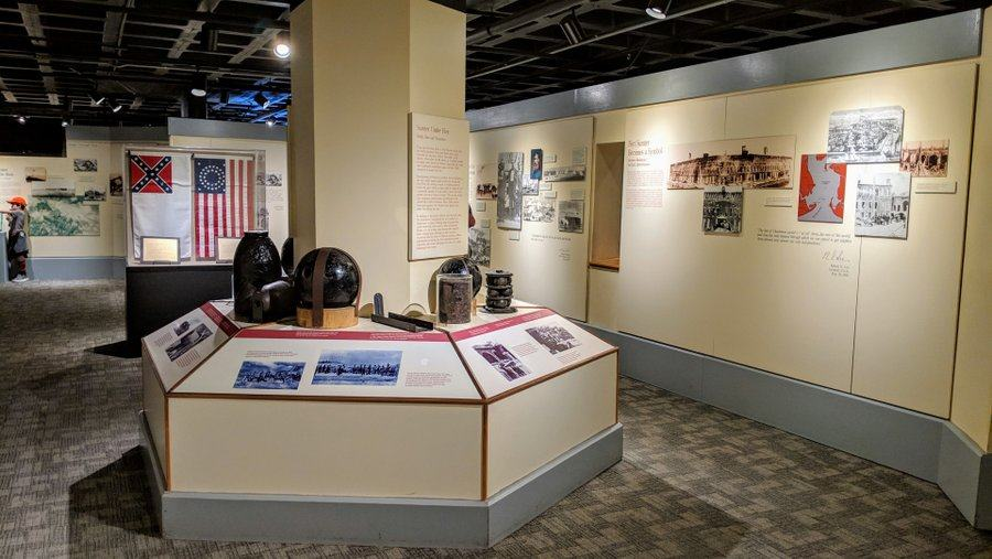 A museum gallery