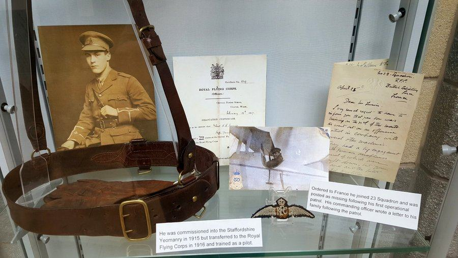 Display of Kevin Furniss effects at RAF Cosford Visitor Centre