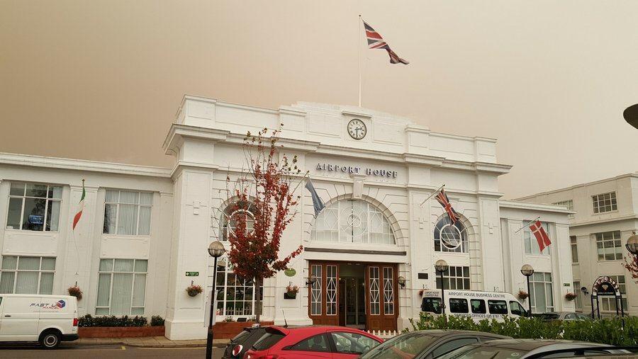 Terminal House entrance, Croydon