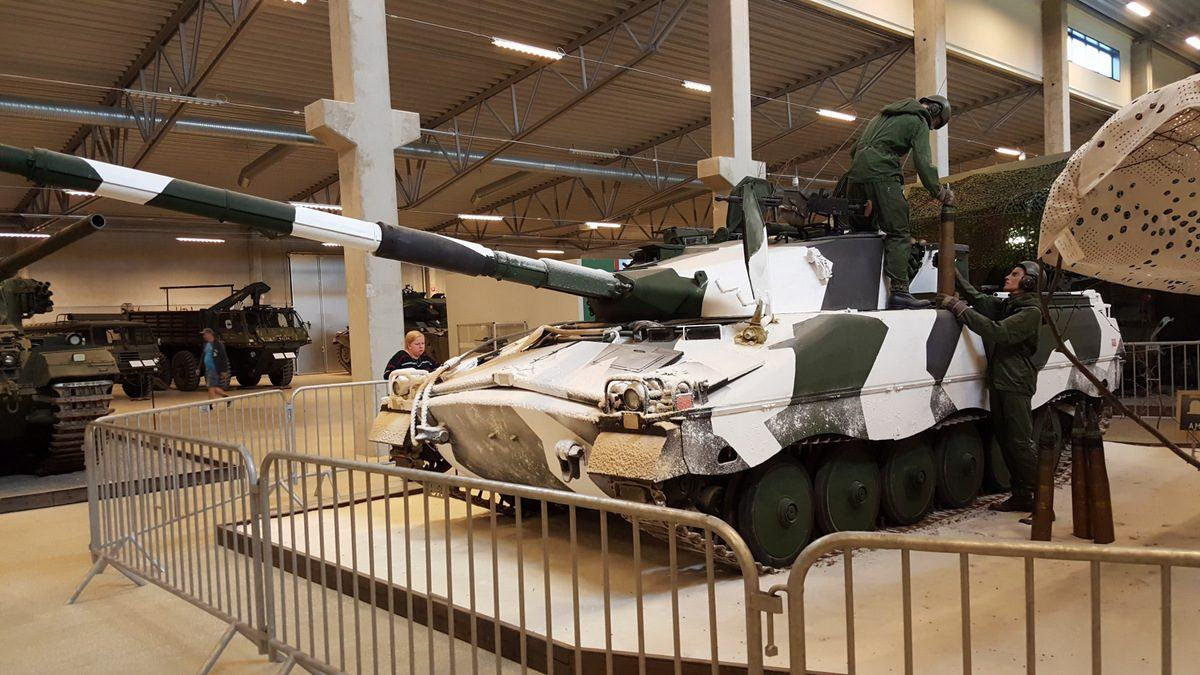 Ifanterikanonvagn 91