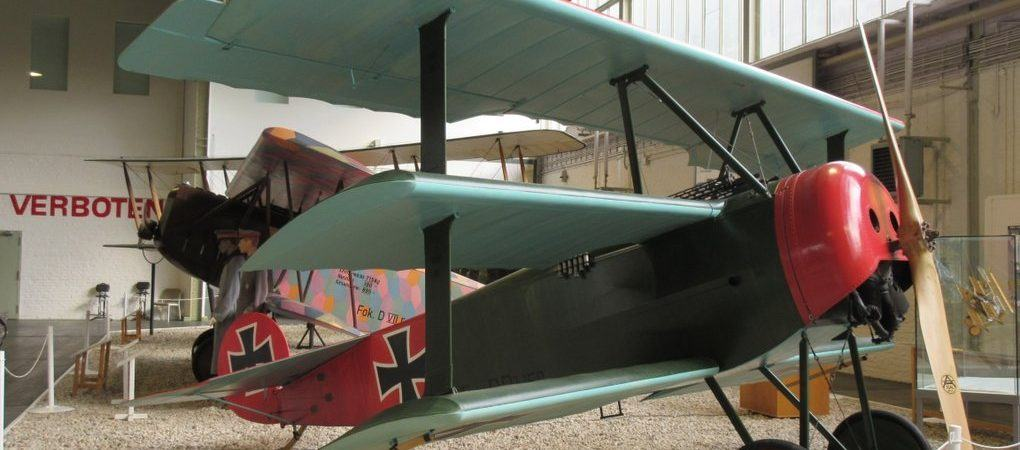 Fokker DR. 1 Dreidecker at the Luftwaffe Museum, Gatow