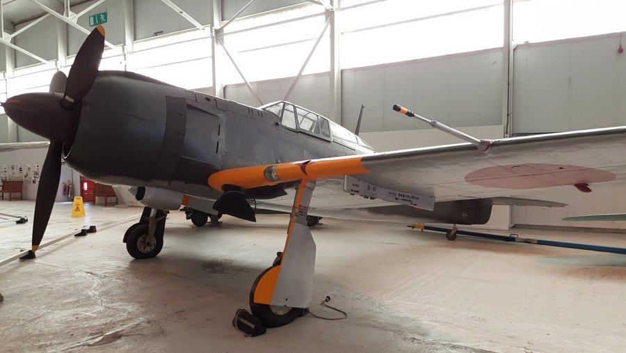Kawasaki Ki100 at RAF Cosford museum