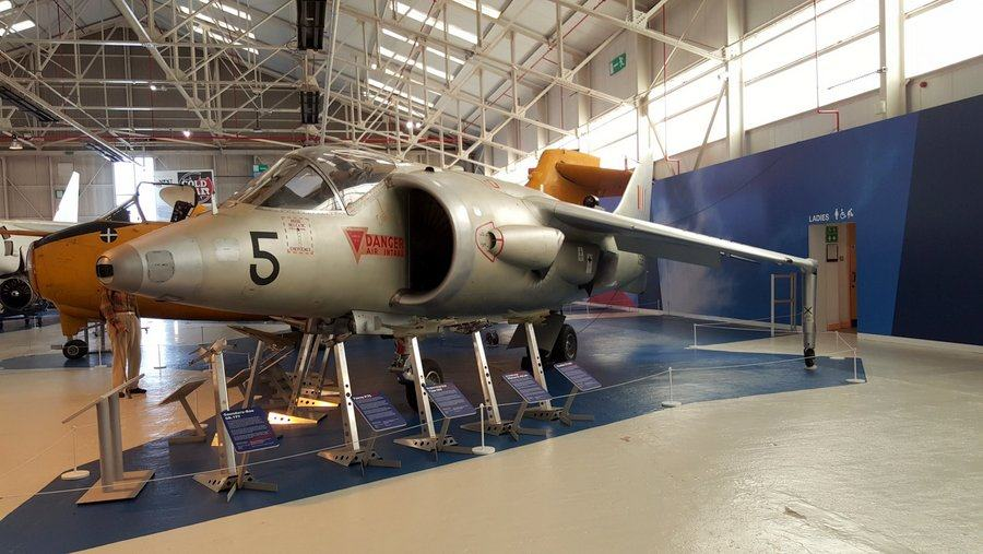 Kestrel VTOL at RAF Cosford