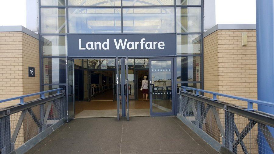Entrance to the Land Warfare Museum, Duxford