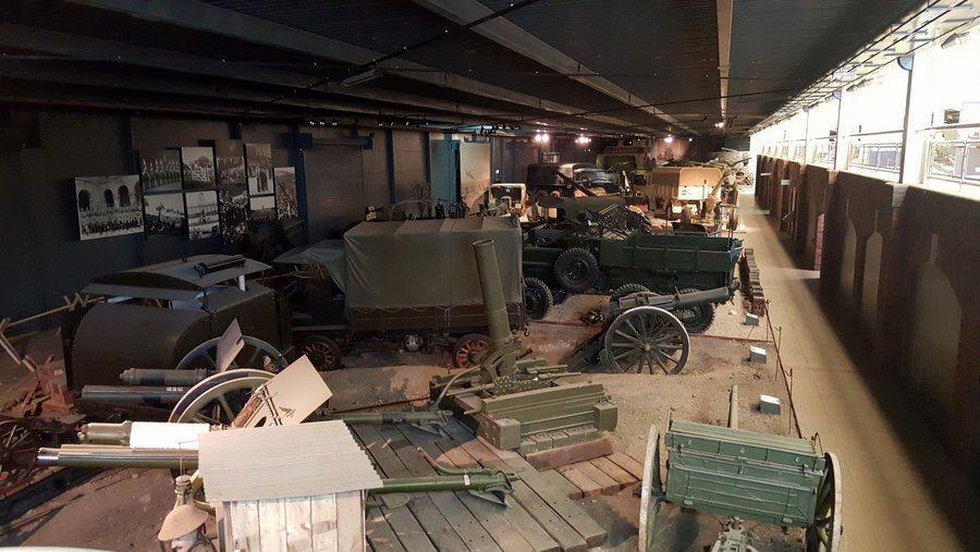 Land Warfare museum gallery