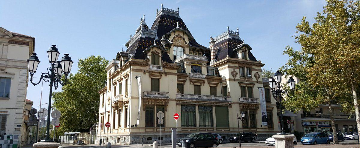 The Lumiere family villa in Lyon