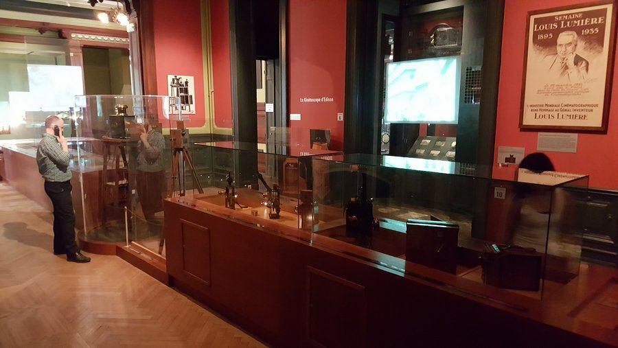 Displays at Musée Lumière