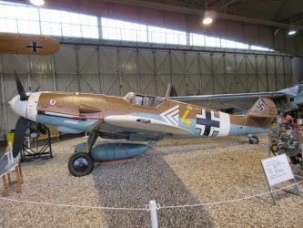 Messerschmitt Bf 109G at Luftwaffe Museum, Gatow