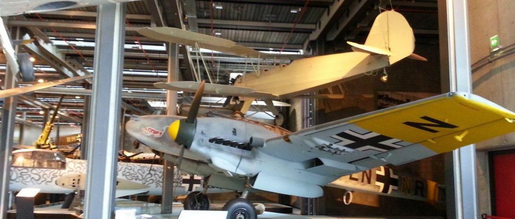 ME110 at Deutsches Technikmuseum, Berlin