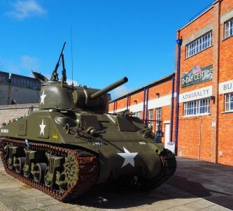 Sherman tank at D-Day centre