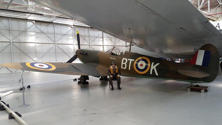 James May spitfire pilot