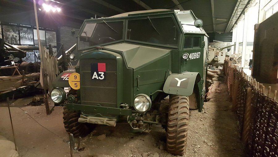 Morris Quad artillery tractor