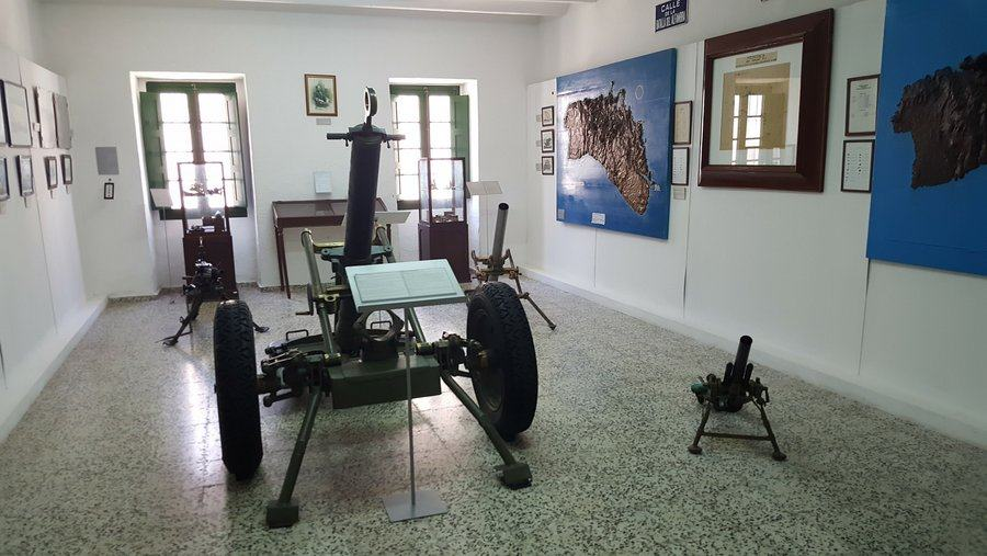 Museum collection of mortars